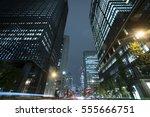 tokyo urban landscape night... | Shutterstock . vector #555666751