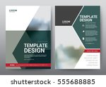 layout template for brochure... | Shutterstock .eps vector #555688885