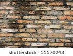 texture of old brick wall | Shutterstock . vector #55570243