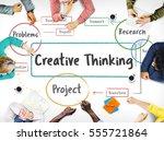 inspiration creative ideas...   Shutterstock . vector #555721864