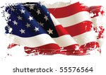 american flag. all elements and ... | Shutterstock .eps vector #55576564