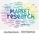 market research word cloud... | Shutterstock .eps vector #555784924