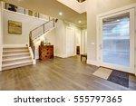 light modern foyer design... | Shutterstock . vector #555797365
