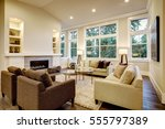 Chic living room design with...
