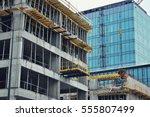 building under construction | Shutterstock . vector #555807499