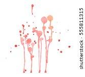 paint  ink  grunge dirty brush... | Shutterstock .eps vector #555811315