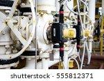 pressure control valve in oil... | Shutterstock . vector #555812371