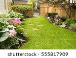 Garden Path. Back Yard Path...