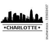 Charlotte Skyline Silhouette