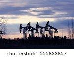 oil company. the company for...   Shutterstock . vector #555833857