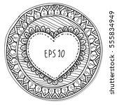 illustration of hand drawn... | Shutterstock .eps vector #555834949