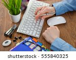 accounting | Shutterstock . vector #555840325