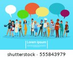 people group different... | Shutterstock .eps vector #555843979