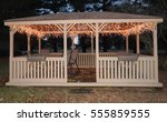 Gazebo With Lights Gazebo At...