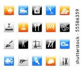 building icons | Shutterstock .eps vector #55586359