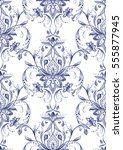 paisley  seamless pattern ... | Shutterstock . vector #555877945