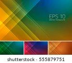 vector diagonal and stripes... | Shutterstock .eps vector #555879751