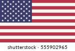 usa flag | Shutterstock .eps vector #555902965