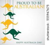 hanging kangaroo australia day