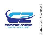 cz logo | Shutterstock .eps vector #556001635