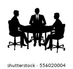 a group of businessmen sitting... | Shutterstock .eps vector #556020004