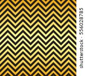 black and gold chevron pattern... | Shutterstock .eps vector #556028785