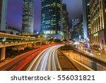 hong kong city light | Shutterstock . vector #556031821