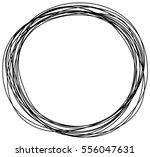abstract hand drawn scribble... | Shutterstock .eps vector #556047631