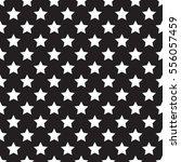 seamless white stars pattern on ... | Shutterstock .eps vector #556057459