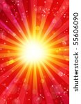 spots and stars on bright... | Shutterstock . vector #55606090