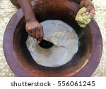 traditional kava the national... | Shutterstock . vector #556061245