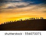 Sunset Red Sand Dunes  Mui Ne ...