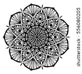 mandalas for coloring book.... | Shutterstock .eps vector #556080205
