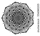 mandalas for coloring book.... | Shutterstock .eps vector #556080205