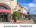 scenery of the outlet mall | Shutterstock . vector #556081459