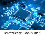close up electronic circuit... | Shutterstock . vector #556094854
