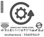 gray gearwheel rotation...   Shutterstock .eps vector #556095619
