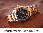 expensive man wrist watch... | Shutterstock . vector #556109875