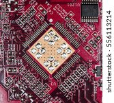 microprocessor  chip  high... | Shutterstock . vector #556113214