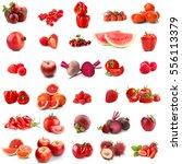 assortment of fresh vegetables...   Shutterstock . vector #556113379