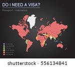 visas information for republic... | Shutterstock .eps vector #556134841