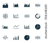 set of graphs  diagrams and... | Shutterstock . vector #556148185
