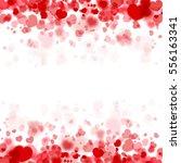 valentine background | Shutterstock .eps vector #556163341