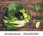 retro styled food background.... | Shutterstock . vector #556182304