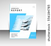business annual report brochure ... | Shutterstock .eps vector #556184785