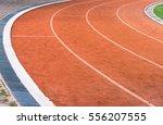 athletic running track | Shutterstock . vector #556207555