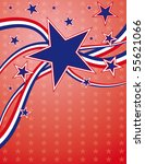 4th of july background | Shutterstock . vector #55621066