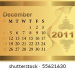 calendar for 2011 | Shutterstock .eps vector #55621630