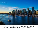 Stock photo coastline of vancouver bc canada 556216825