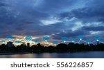 modern cityscape and wireless...   Shutterstock . vector #556226857